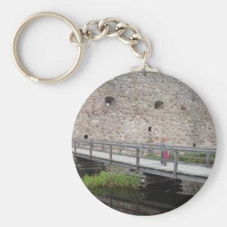 Kronoberg Castle Ruins - Sweden Keychains