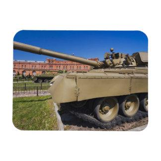 Kronverksky Island, Artillery Museum, tanks Magnet