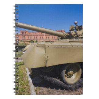 Kronverksky Island, Artillery Museum, tanks Notebooks