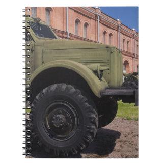 Kronverksky Island, Artillery Museum, truck Notebook