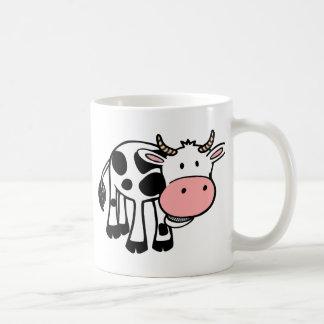 KROWA CUTE BABY COW FARM ANIMALS CARTOON HAPPY LIG COFFEE MUG