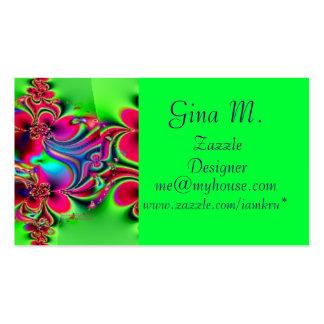 KRU Profile Card *Neopolitan Swirl* Pack Of Standard Business Cards