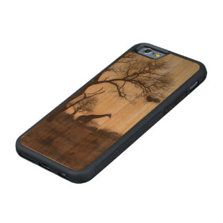 Kruger Giraffe Carved Cherry iPhone 6 Bumper Case