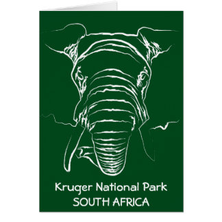 Kruger National Park Card