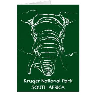 Kruger National Park Greeting Card