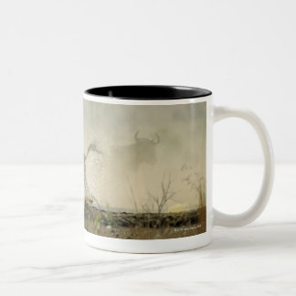 Kruger National Park, Mpumalanga Province, South 3 Two-Tone Coffee Mug