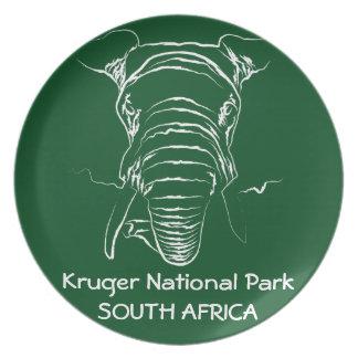 Kruger National Park Plate