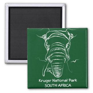 Kruger National Park Square Magnet
