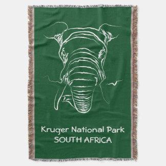 Kruger National Park Throw Blanket