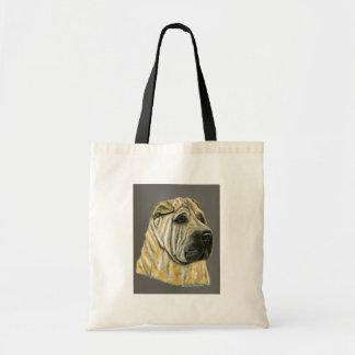 Kruger - Shar Pei Dog Art Bag