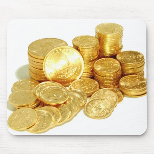 Krugerrand Coins Mouse Mat