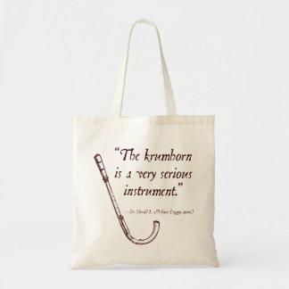 Krumhorn Tote Canvas Bags