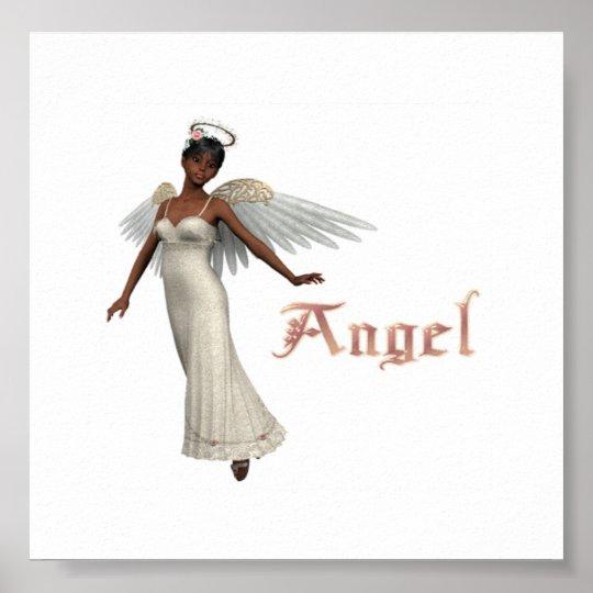 KRW Angel African American Poster