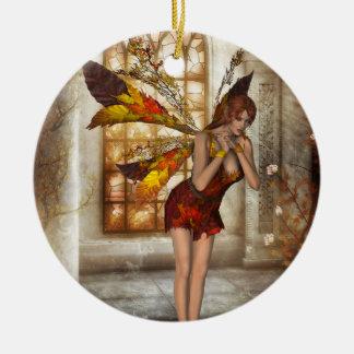 KRW Autumn Delight Faery Fantasy Ornament