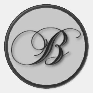 KRW - B - Monogrammed Seal