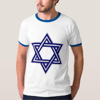 KRW Blue Star of David T-Shirt