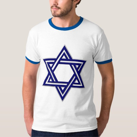 KRW Blue Star of David T-Shirt