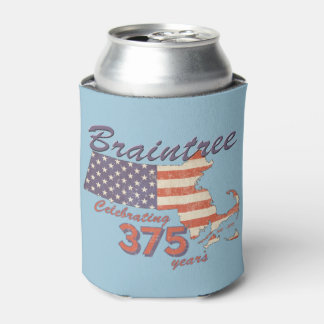 KRW Braintree, MA 375 Birthday Can Cooler