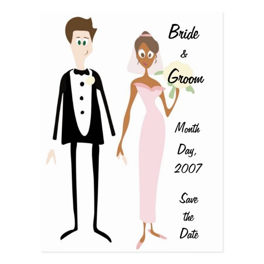 KRW Bride & Groom Save the Date Custom