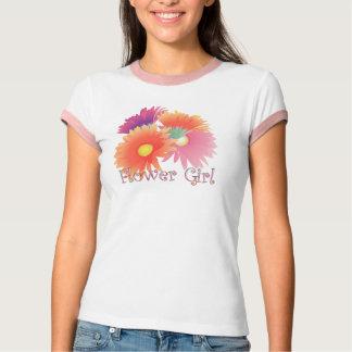 KRW Bright Daisy Flower Girl Wedding Shirt
