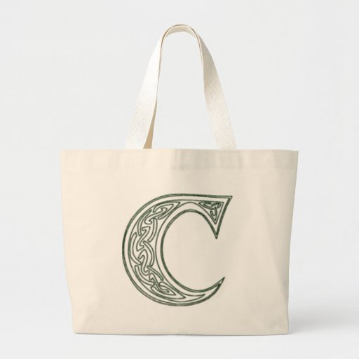 KRW - C - Celtic Monogrammed Tote Bag