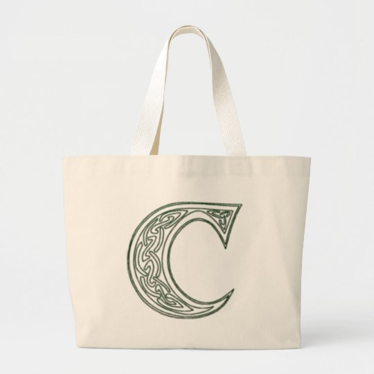 KRW - C - Celtic Monogrammed Tote Bag