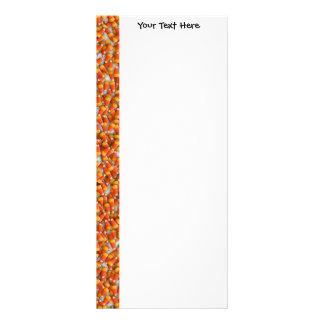 KRW Candy Corn Custom Rack Card
