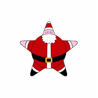 KRW Cartoon Star Santa Claus Pin Photo Sculpture Badge