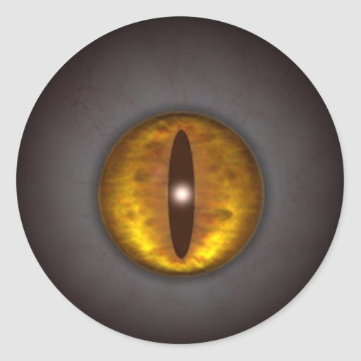 KRW Cat's Eye Creepy Halloween Sticker