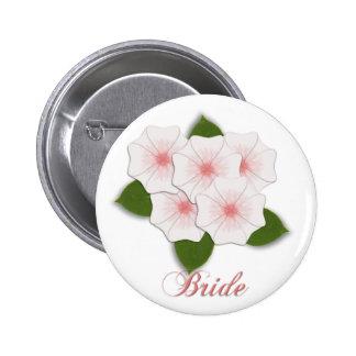 KRW Cherry Blossom Bride 6 Cm Round Badge