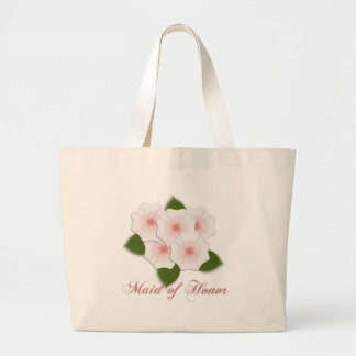 KRW Cherry Blossom Maid of Honor Large Tote Bag