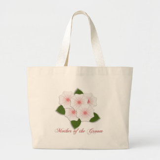 KRW Cherry Blossoms Mother of the Groom Large Tote Bag