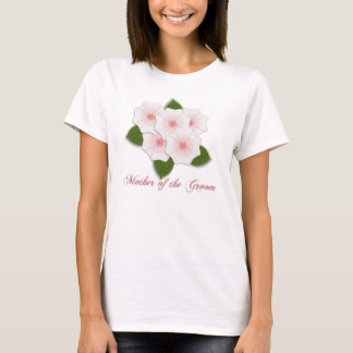 KRW Cherry Blossoms Mother of the Groom T-Shirt