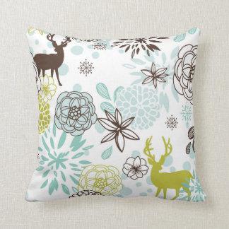 KRW Christmas Deer Modern Decor Pillow