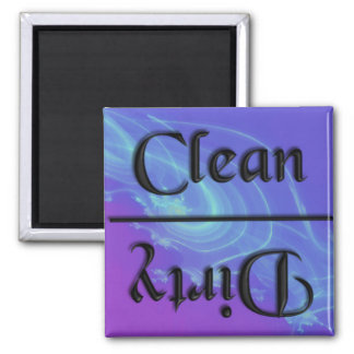 KRW Clean and Dirty Kitchen Magnet