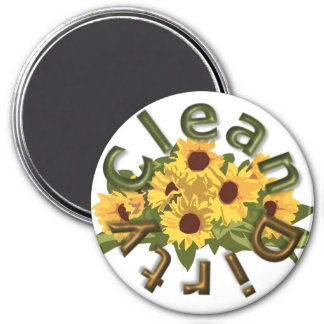 "KRW Clean and Dirty Large 3"" Kitchen Magnet"