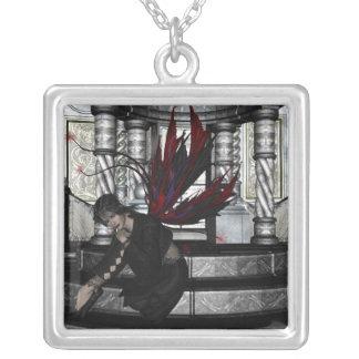 KRW Contemplation Fairy Fantasy Silver Necklace