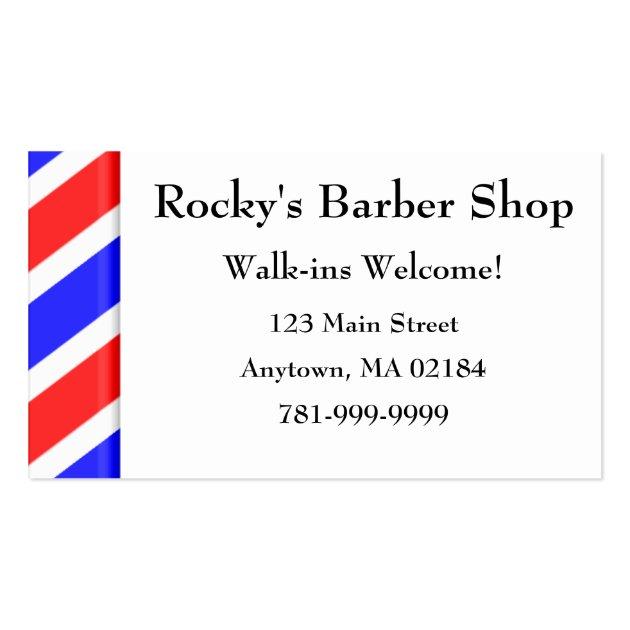barber logos business cards - photo #4