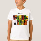 KRW Custom Bowling Birthday Party Kid's T-Shirt