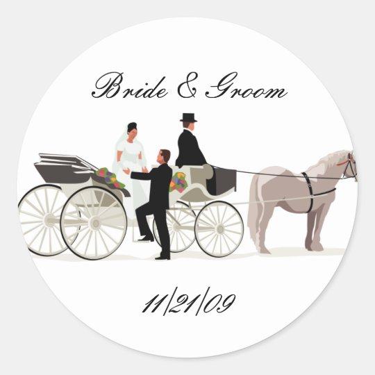 KRW Custom Elegant Horse Drawn Carriage Wedding Classic
