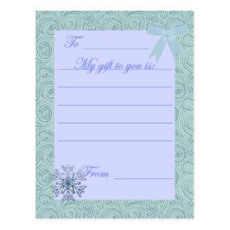 KRW Custom Holiday Gift Card