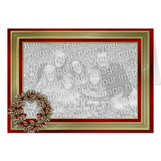 KRW Custom Holiday Photo Frame Card