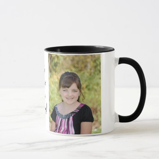KRW Custom Photo Gift Mug with Custom Text