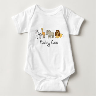 KRW Cute Baby Zoo Animal Baby Bodysuit