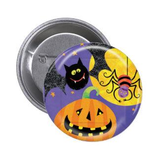 KRW Cute Halloween Friends Pin