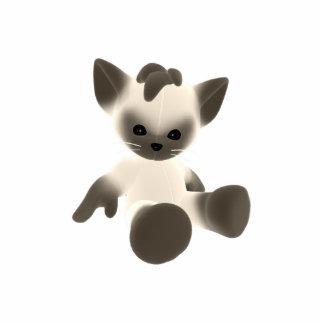 KRW Cute Kitty Photo Sculpture
