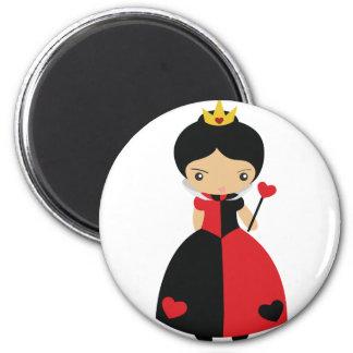 KRW Cute Queen of Hearts Magnet