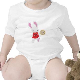 KRW Cute Wonderland White Rabbit Bodysuits