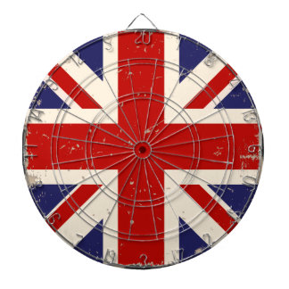 KRW Distressed British Flag Dartboard