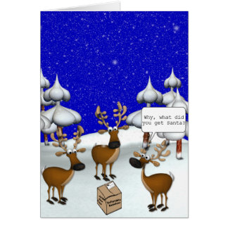 KRW Don't You Hate Christmas Shopping Funny Card